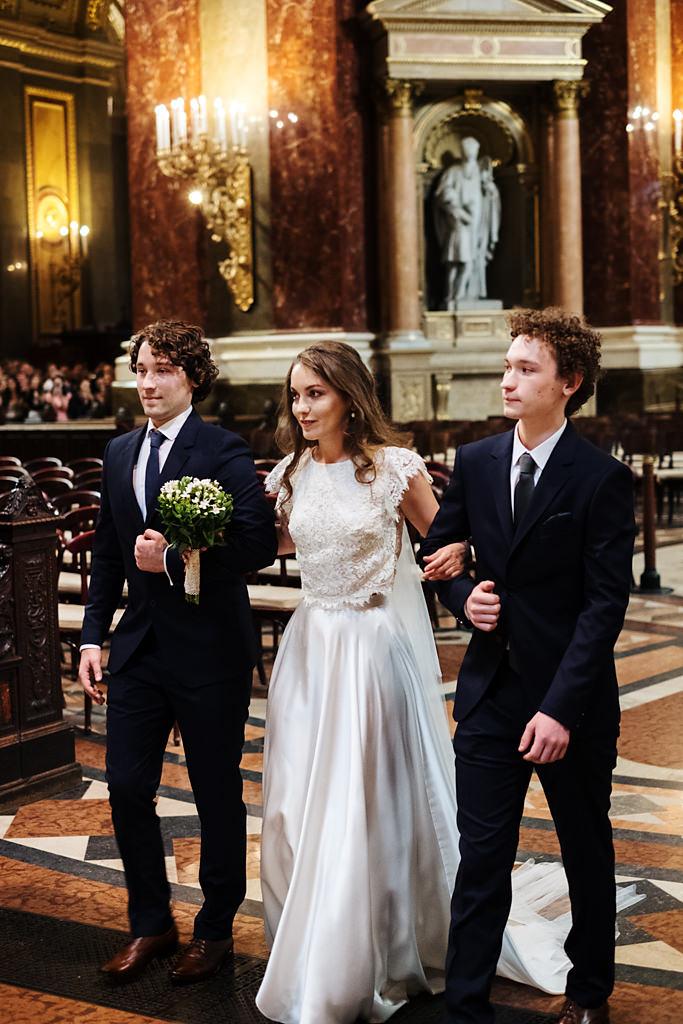 Esküvői fotózás Bazilika Budapest Betti & Dani | Seres Zsolt esküvői esküvői fotós 009