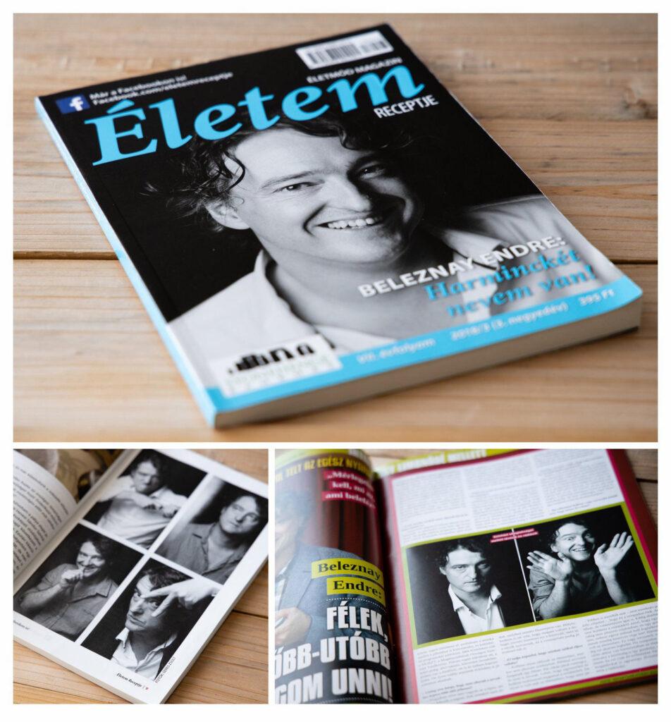 Beleznay Endre portré magazin megjelenés | Seres Zsolt fotós Budapest