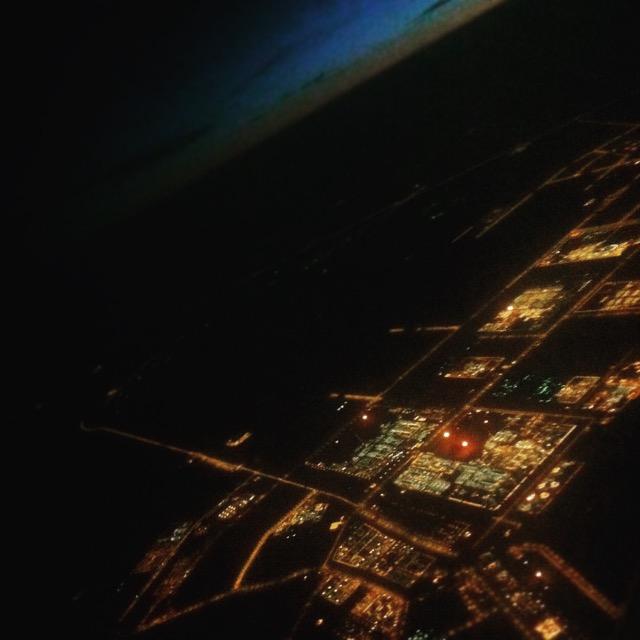 Doha a levegőből - mobilfotó | Seres Zsolt fotós