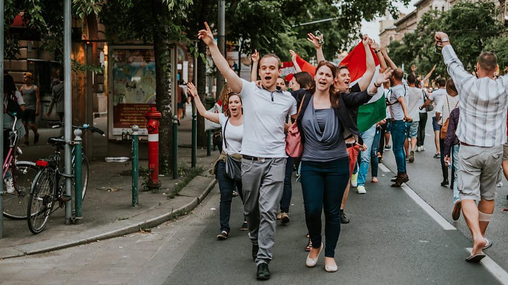 Magyar labdarúgó válogatott EB 2016 ünnep | Seres Zsolt fotós 019