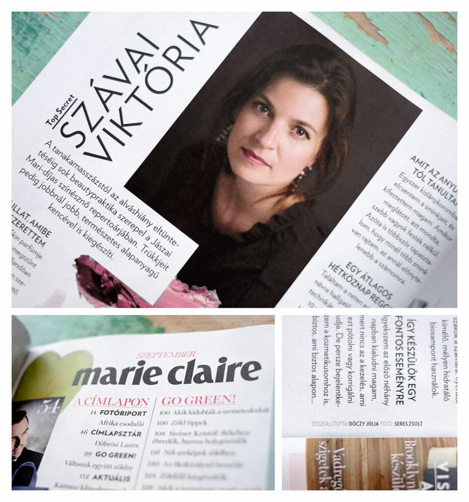 Szávai Viktória portré fotózás Marie Claire magazin Seres Zsolt fotós Budapest