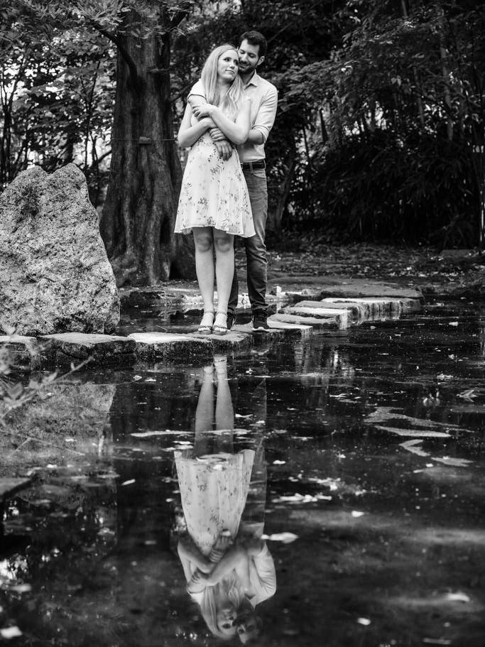 Jegyesfotózás a Füvészkertben Niki Miki 001 |Seres Zsolt fotós
