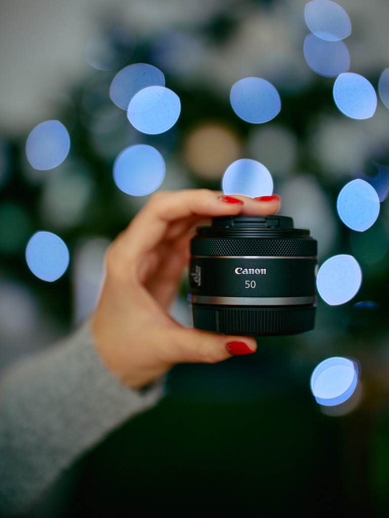 Canon RF 50mm F1.8 STM review lens 1